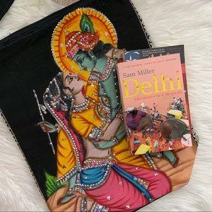 Handbags - Indian sequin embroidered crossbody bag